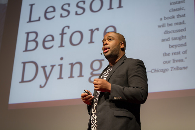 Mark S. Luckie     So we're woke...now what?    Digital strategist Mark S. Luckie makes a strong call to action, reminding us that activism can come in many forms.