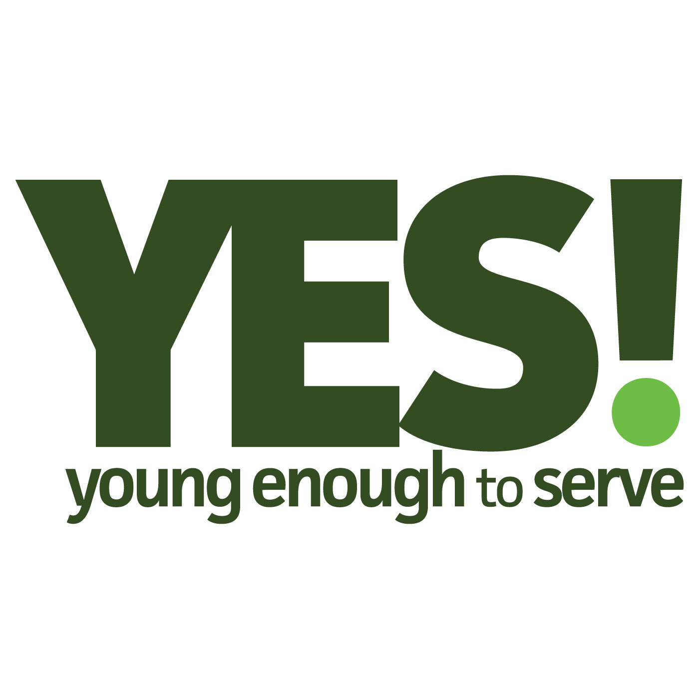 YES! Podcasts - YES! Young Enough to Serve