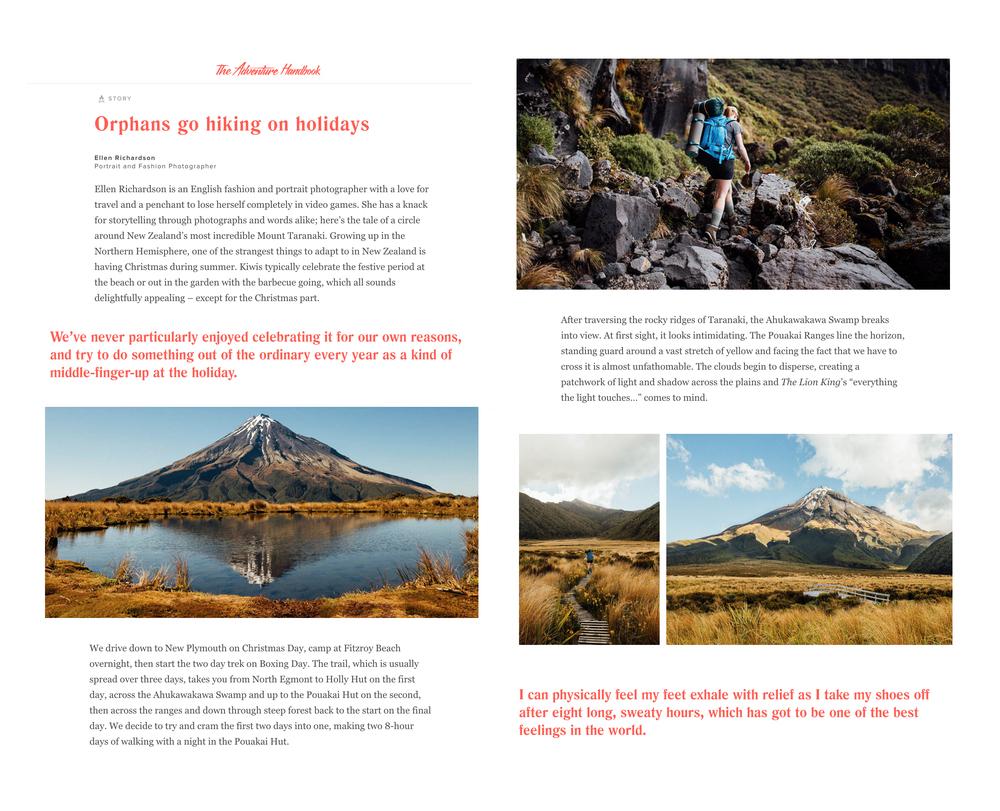 Hiking Mt Taranaki