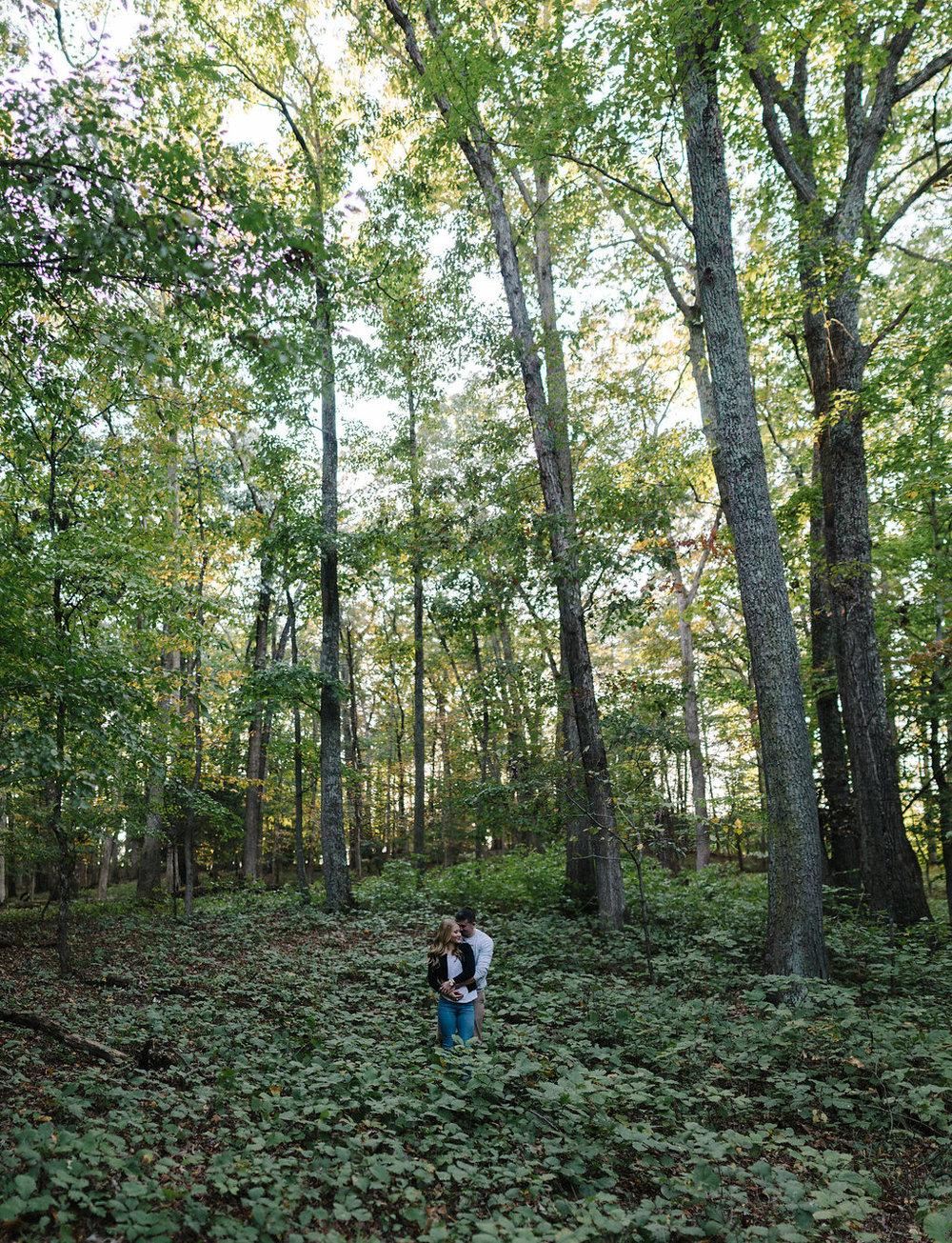 wide-shot-woods-engagement-brenizer-method.jog