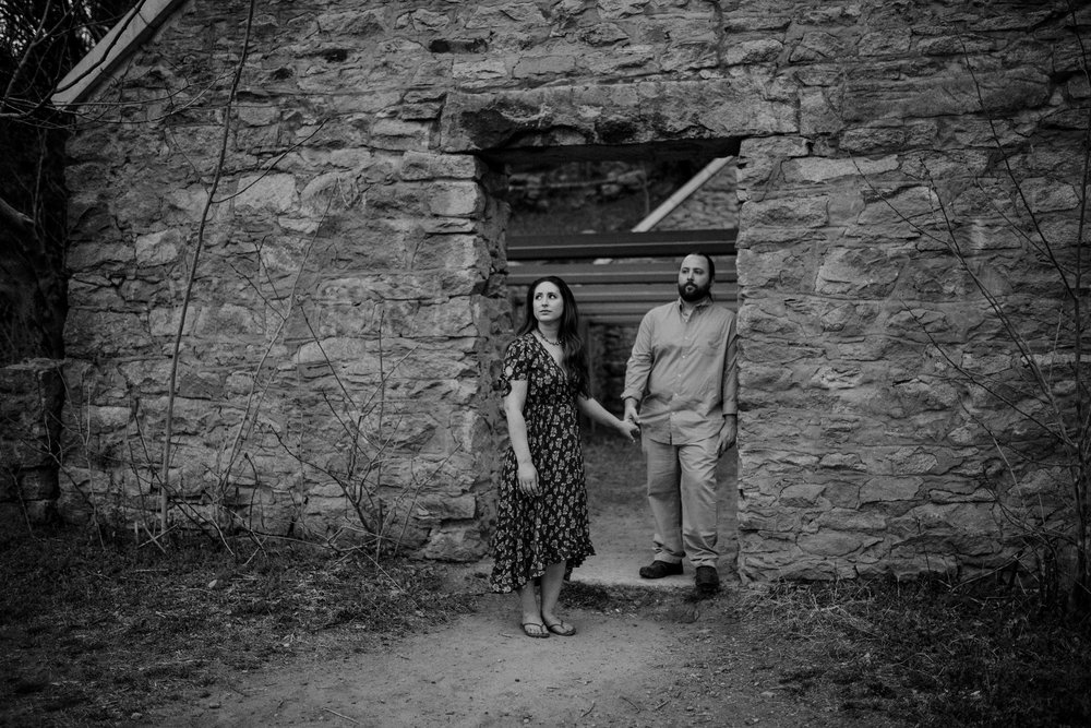 engagement photos at Belle Isle