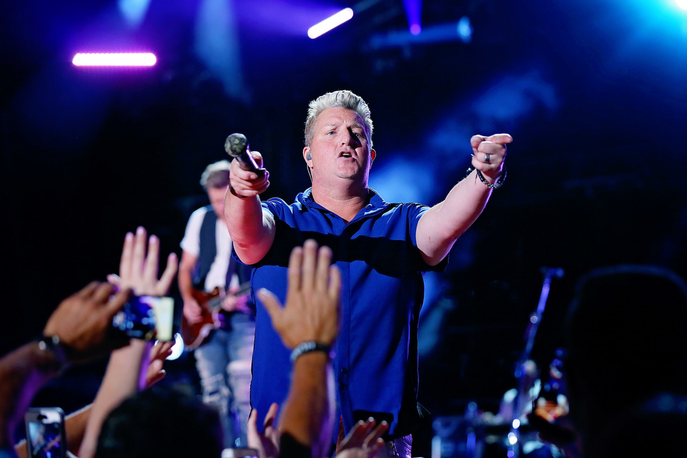 Rascal Flatts performs at Nissan Stadium during CMA Fest