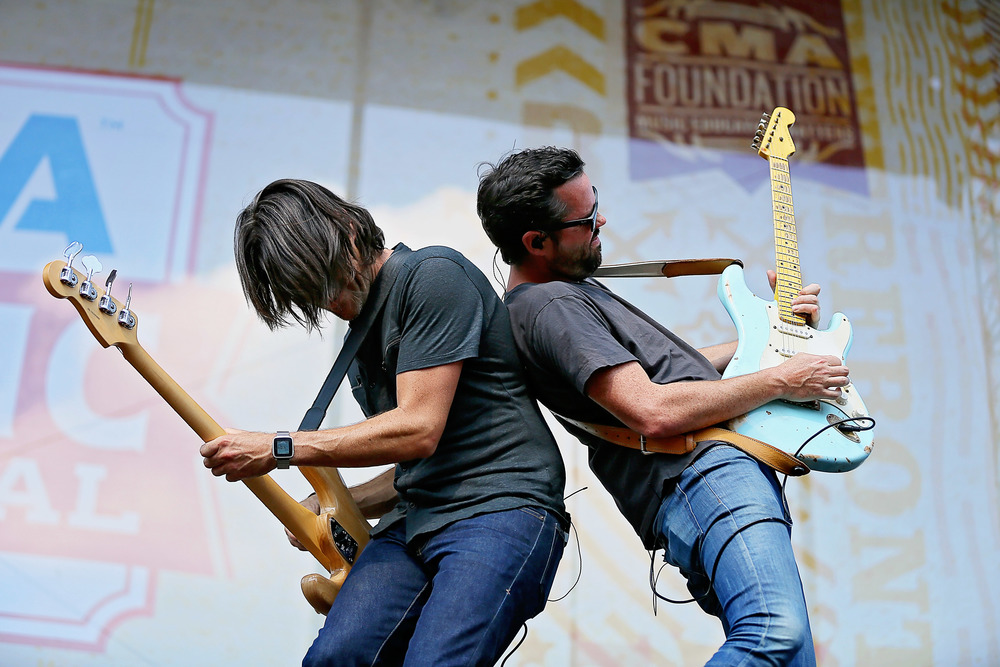 Old Dominion performs at Riverfront Stage during CMA Fest
