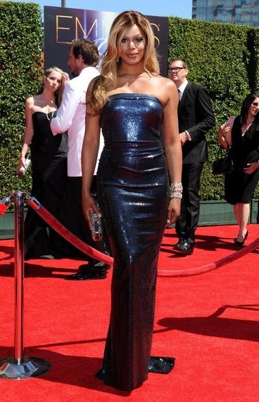 Laverne Cox, 2014 Creative Arts Emmys