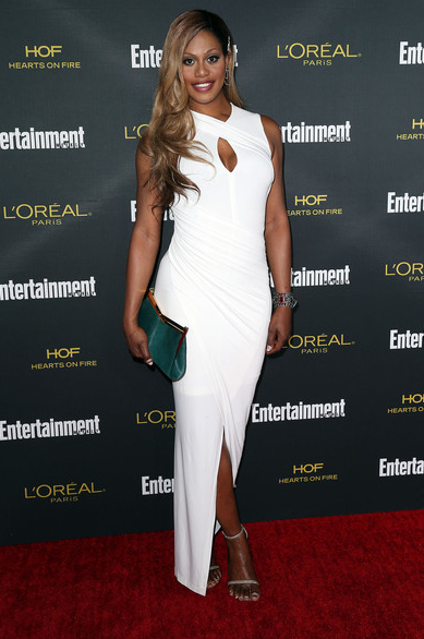 Laverne Cox at the Entertainment Weekly 2014 Pre-Emmys Party