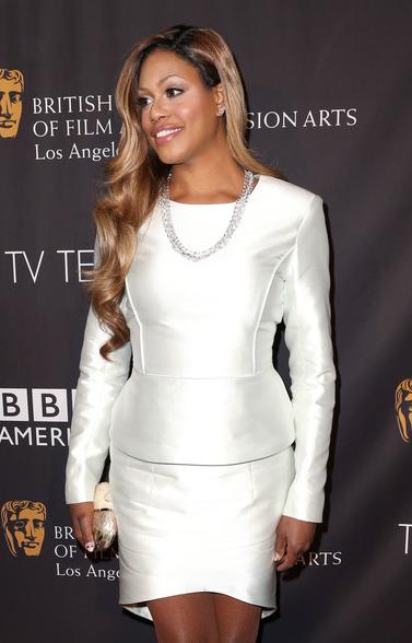 Laverne Cox at BAFTA 2014 Pre-Emmys Tea Party