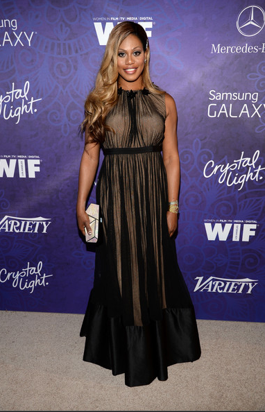 Laverne Cox at the Variety 2014 Pre-Emmys Party