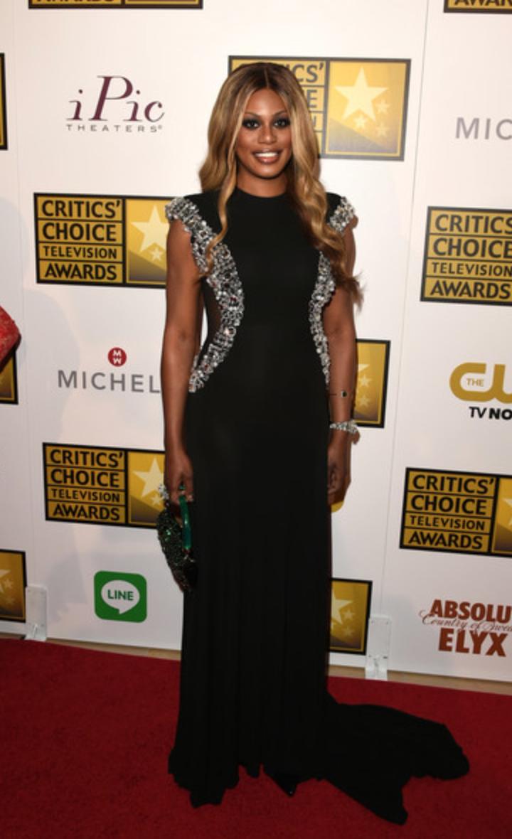 Laverne Cox at the 2014 Critics Choice Awards