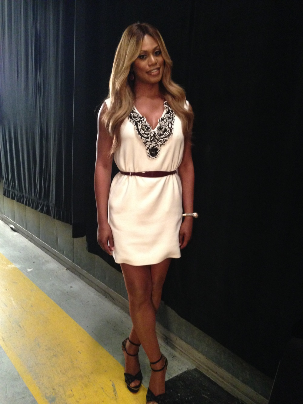 Laverne Cox on ABC's The View, October 2014 (second appearance)