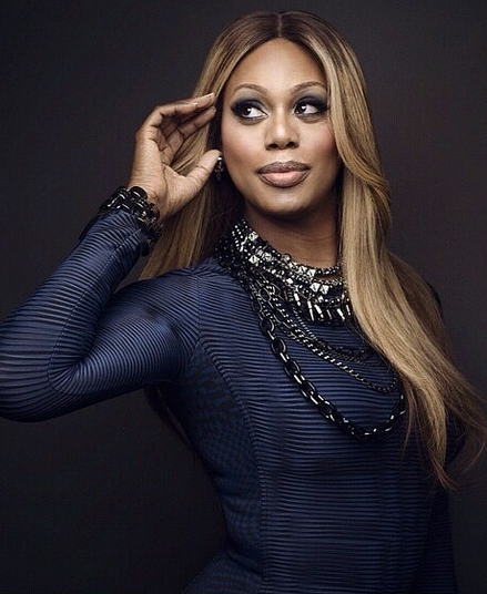 "Laverne Cox on ""Late Night with Seth Meyers."""
