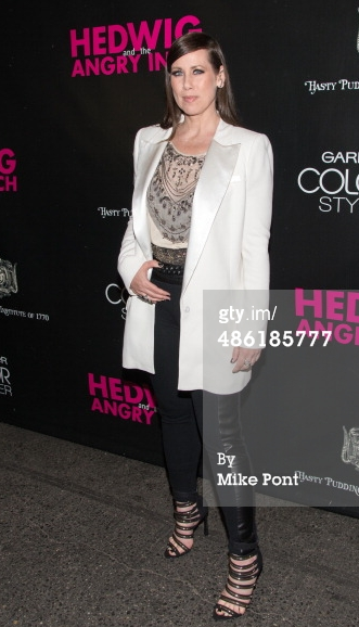 """Film & Television Star Miriam Shor at the """"Hedwig & the Angry Inch"""" Broadway Premiere"""
