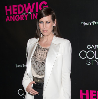 """TV & Film Star Miriam Shor at the """"Hedwig & the Angry Inch"""" Broadway Premiere"""