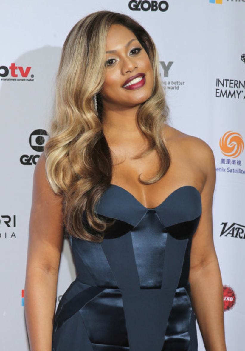 Laverne Cox, 2014 International Emmy Awards