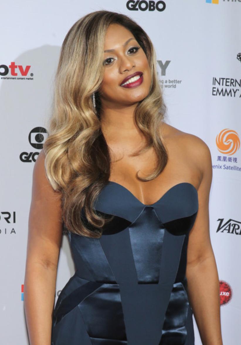 Laverne Cox, 2014 International Emmy Awards