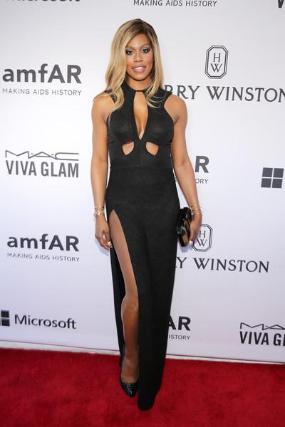Laverne Cox, amfAR Gala 2015