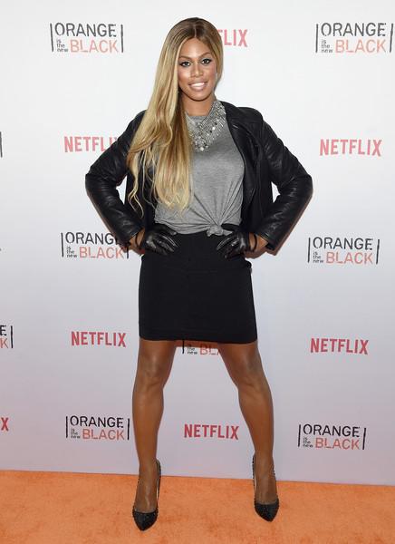 """Laverne Cox, """"Orange is the New Black"""" Season 3 Premiere Event"""