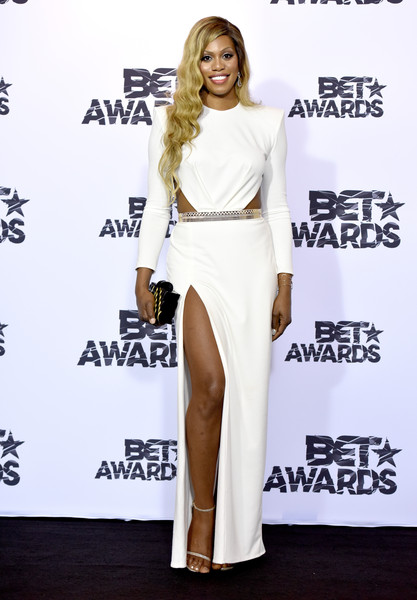 Laverne Cox Presents at BET Awards