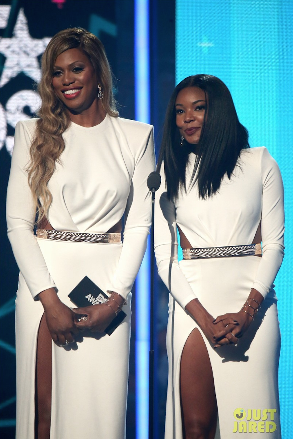 Laverne Cox and Gabrielle Union Presenting at BET Awards 2015
