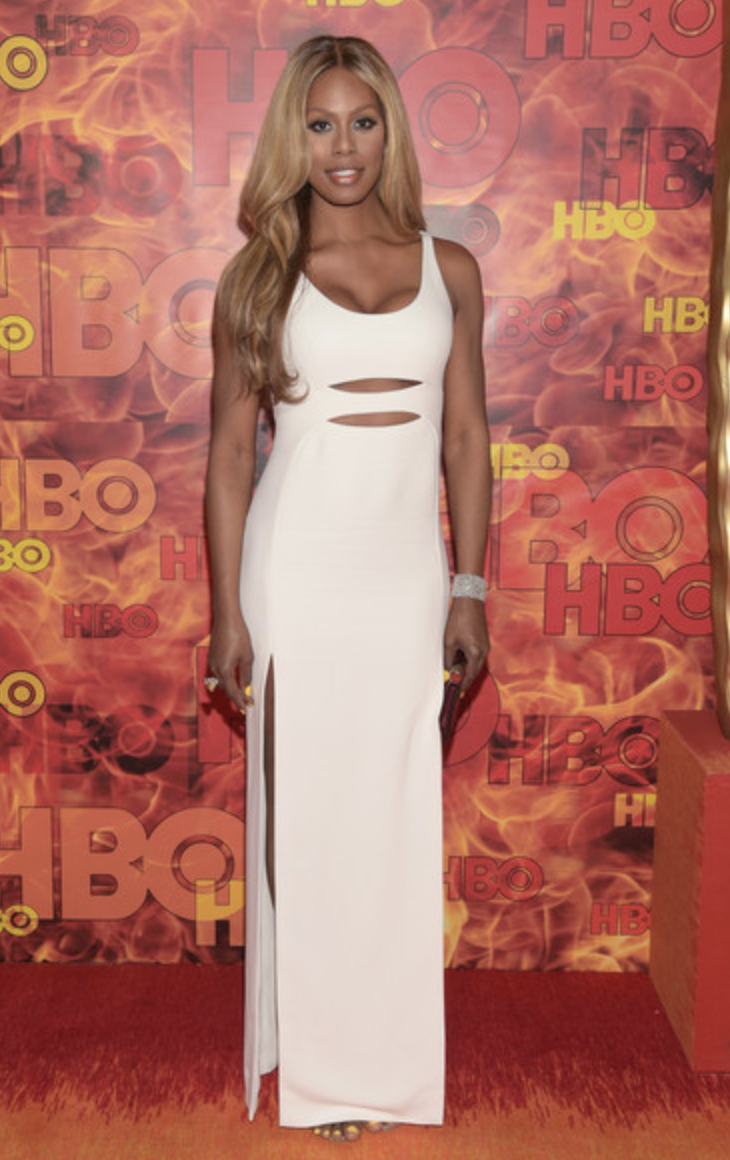 Laverne Cox, Primetime Emmys Afterparty 2015