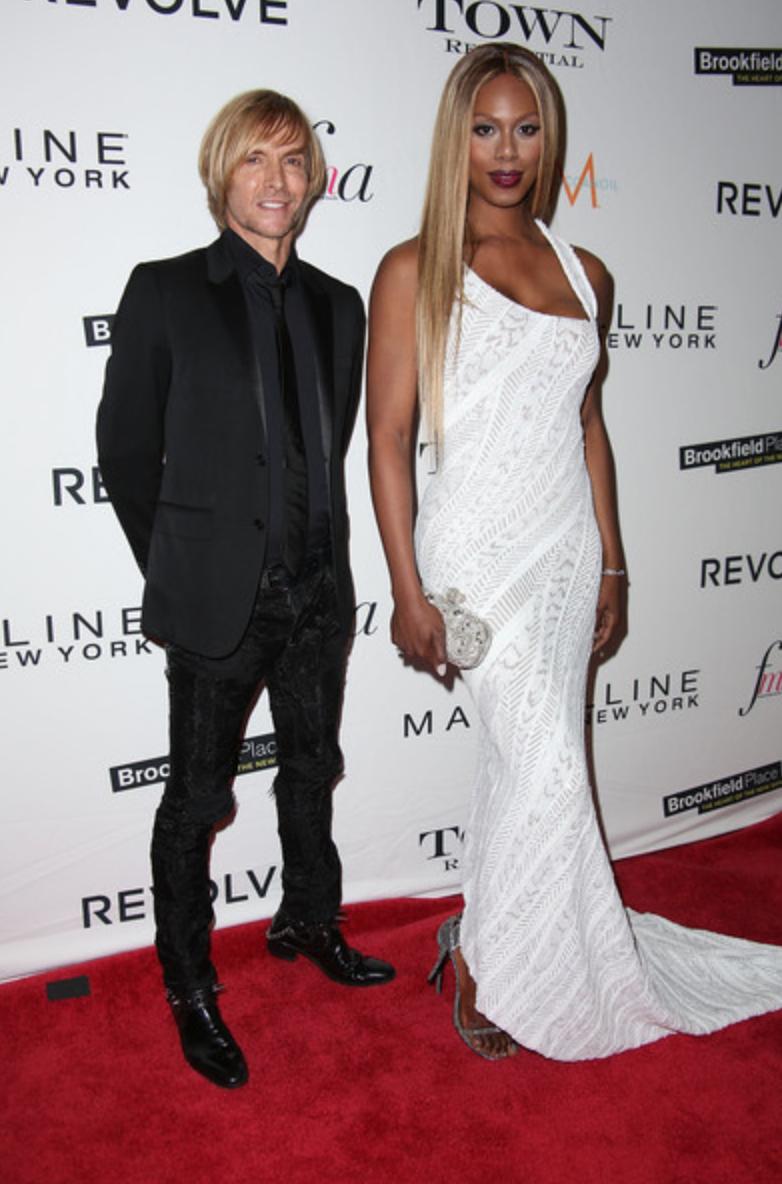 Laverne Cox, Fashion Media Awards 2015