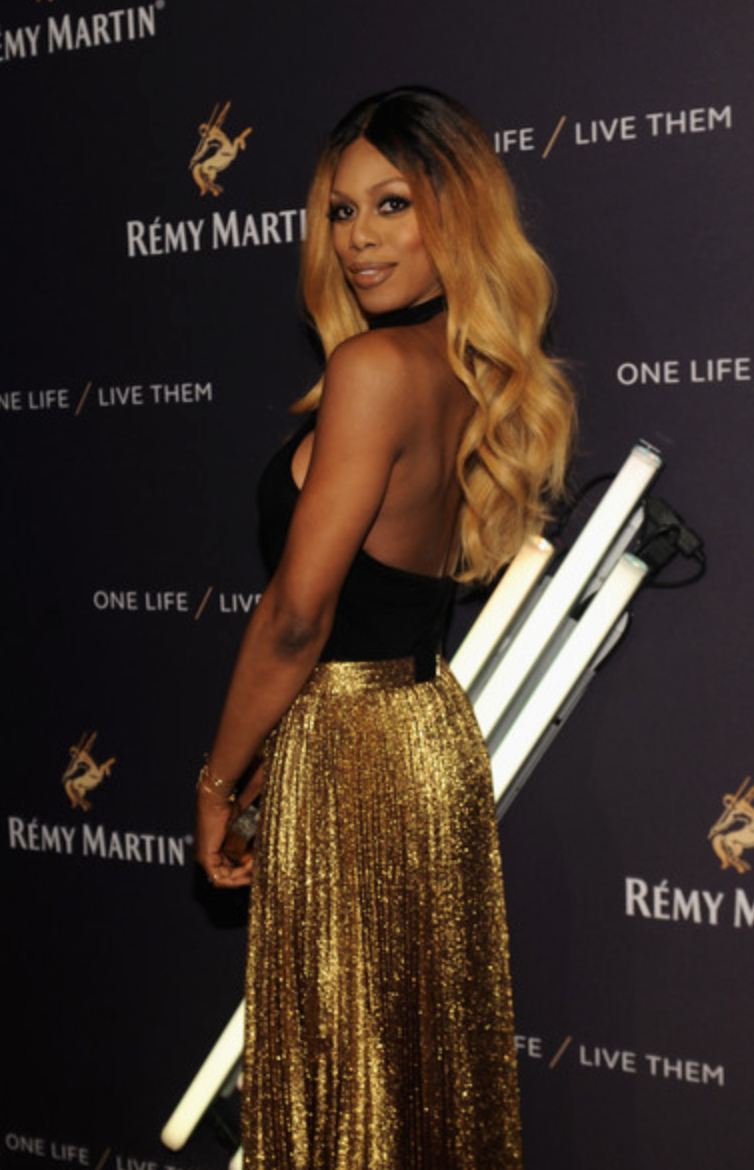 Laverne Cox, House of Remy Martin event