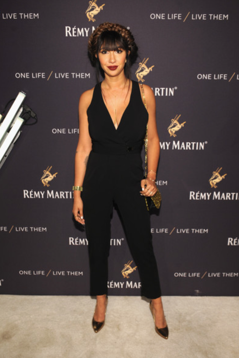 Jackie Cruz, House of Remy Martin event