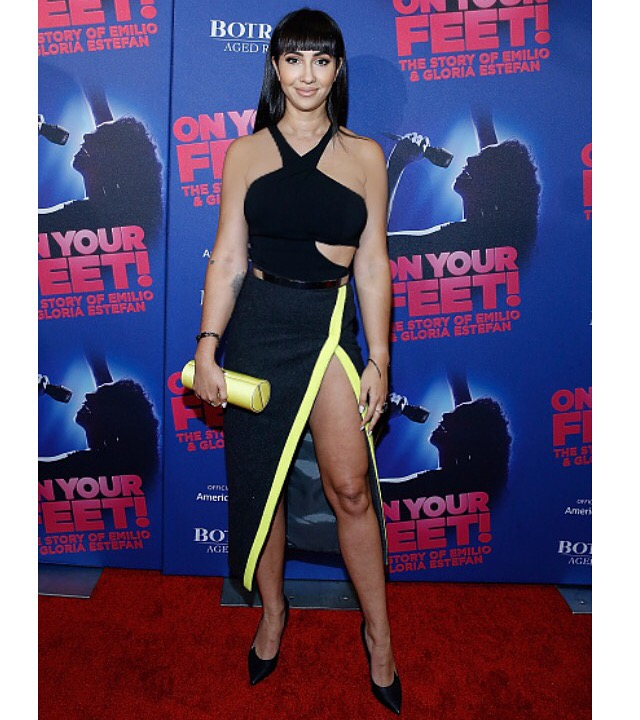 Jackie Cruz, On Your Feet Broadway Premiere 2015