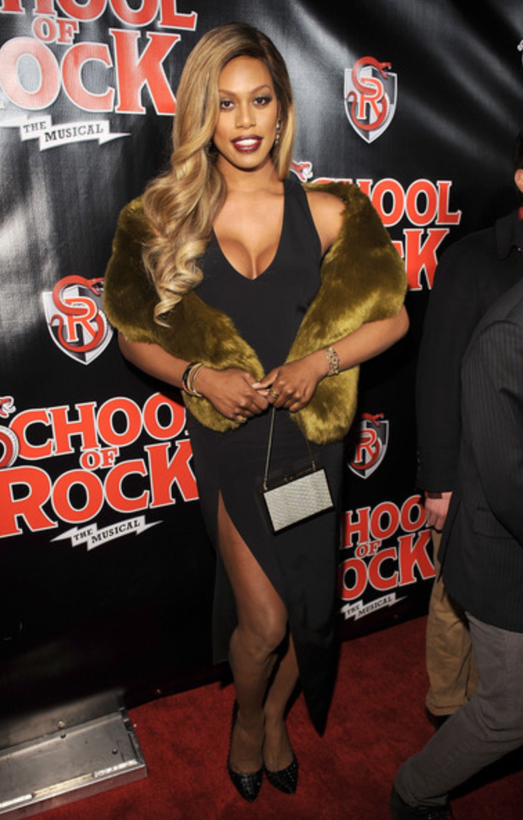 Laverne Cox, School of Rock Broadway Premiere