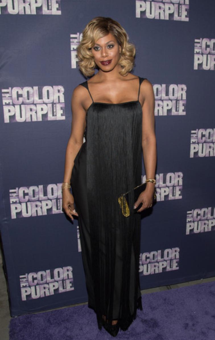 Laverne Cox, The Color Purple Broadway premiere