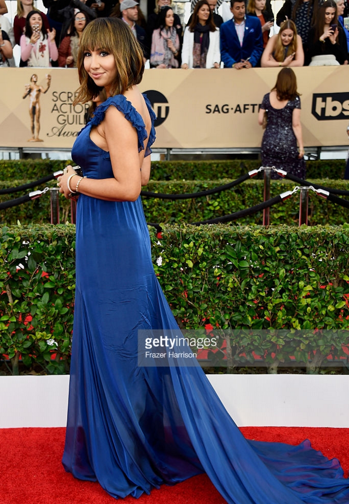 Jackie Cruz at the SAG Awards 2016