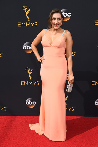 """Unbreakable Kimmy Schmidt's"" Lauren Adams at Emmys 2016"