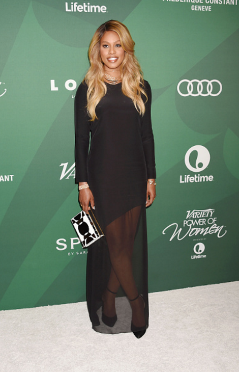 Laverne Cox Variety Magazine Power of Women red carpet