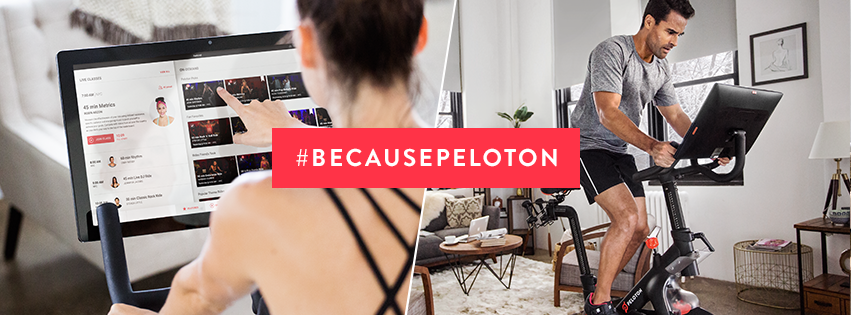 Peloton Holiday Campaign