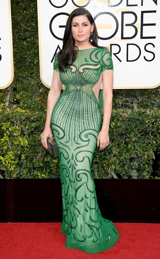 Trace Lysette, Golden Globes 2017