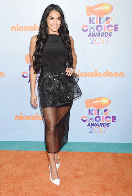 Nikki Bella at the Kids' Choice Awards