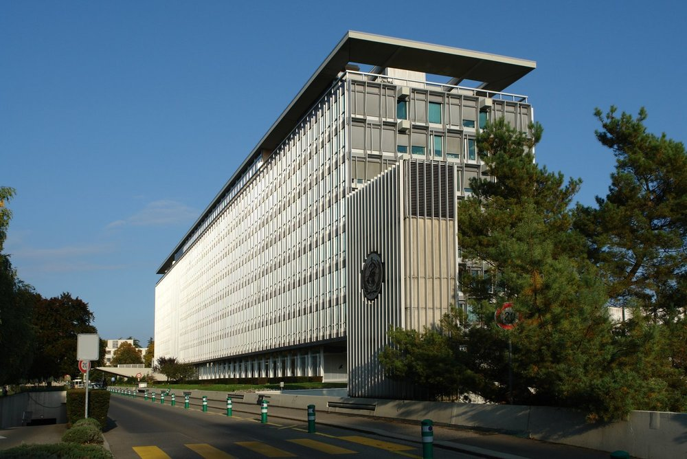 World Health Organization Headquarters in Geneva, Switzerland.
