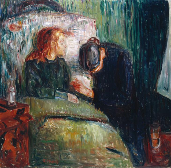 Sick Child by Edvard Munch.