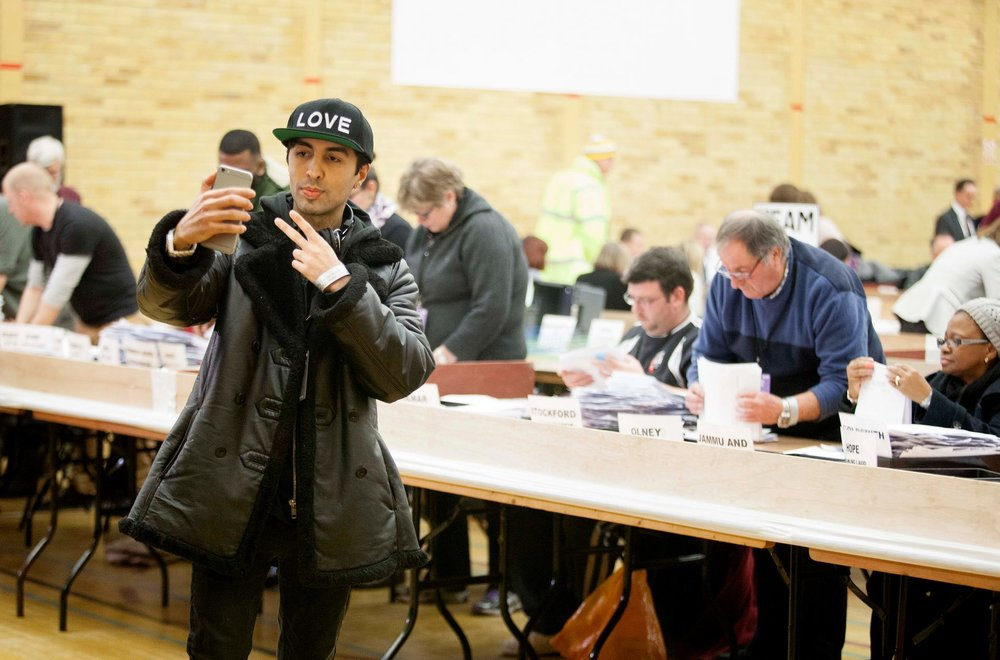 Ankit Love at the Richmond Park By-Election 2016. Photo courtesy of the Guardian.