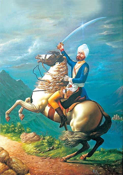 An artist's impression of Zorawar.