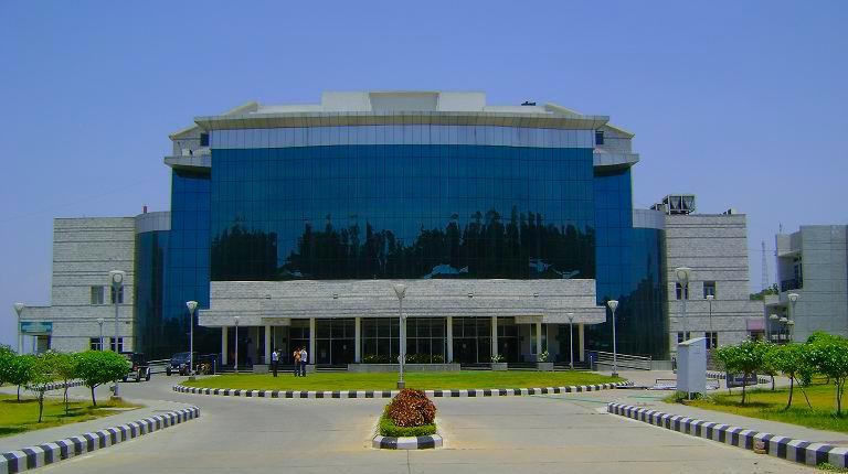 Zorawar Auditorum, University of Jammu.