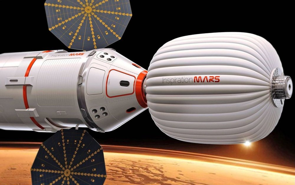 Inspiration Mars Foundation spacecraft.