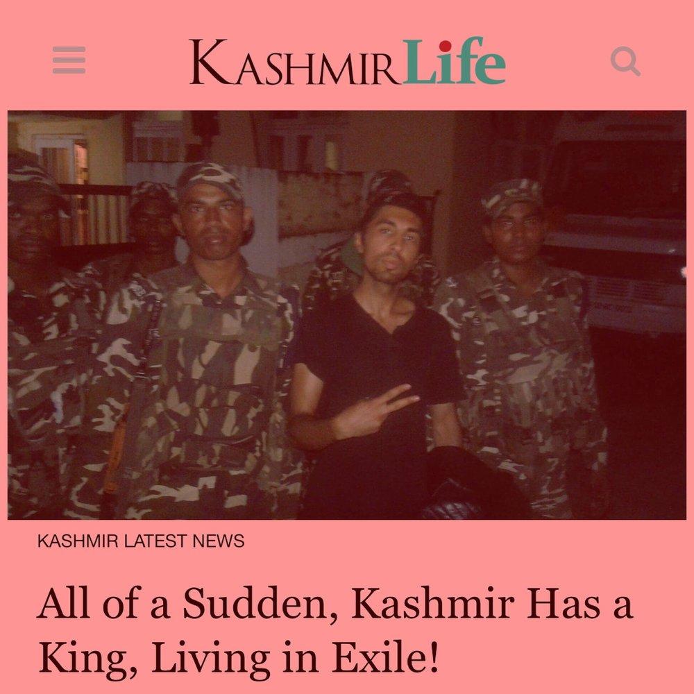 Ankit Love King of Kashmir Maharaja of Jammu and Kashmir Life.JPG