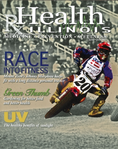 Health Illinois Magazine cover June/July 2007