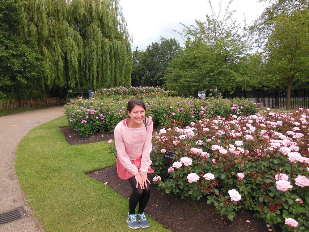 The rose gardens at Regent's Park.  Summer 2012.