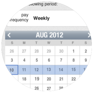Snap Payroll - Calendar Redesign