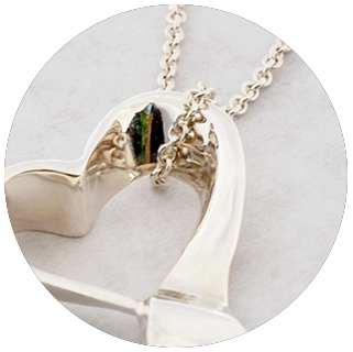 Silversmithing - Heart Necklace
