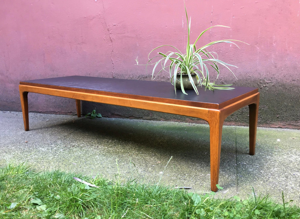 Vintage Mid Century Modern Coffee Table By Lane.