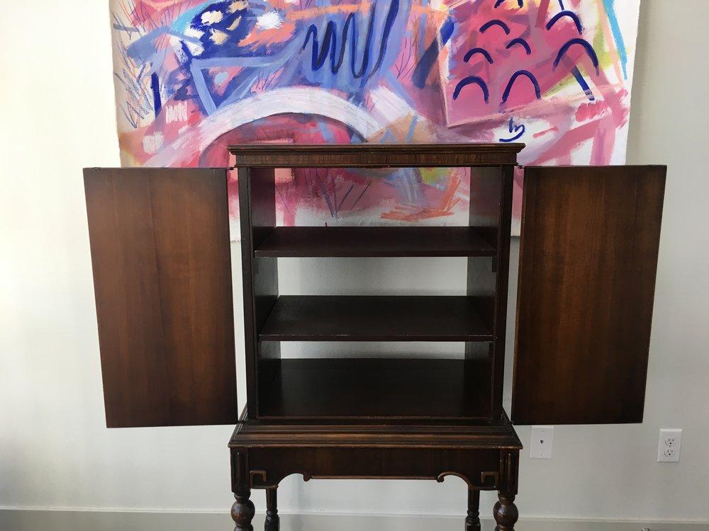 antique cabinet. 375.00 435.00. sale - Antique Cabinet. — ReRunRoom Vintage Furniture + Home Decor