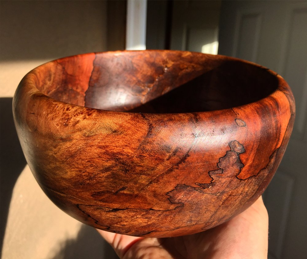 SPALTED BIG LEAF MAPLE