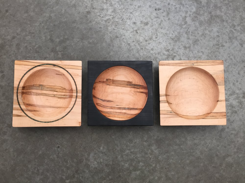 AMBROSIA MAPLE BEVEL BOWLS